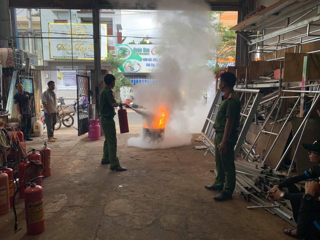 phòng cháy chữa cháy tại sự kiện Tín Nhân